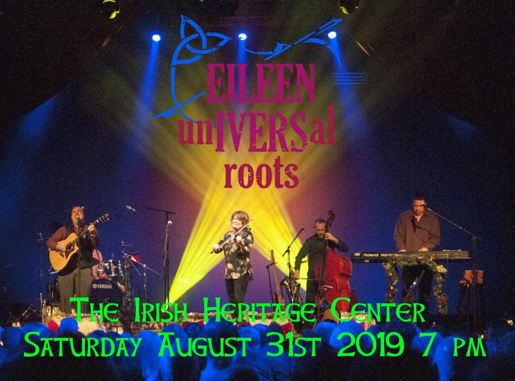 Eileen Ivers & Universal Roots on stage